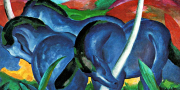 Horse art prints, Franz Marc