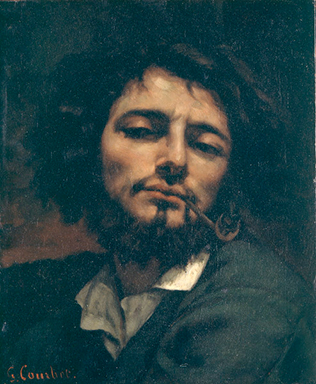 Gustave Courbet - Selfportrait