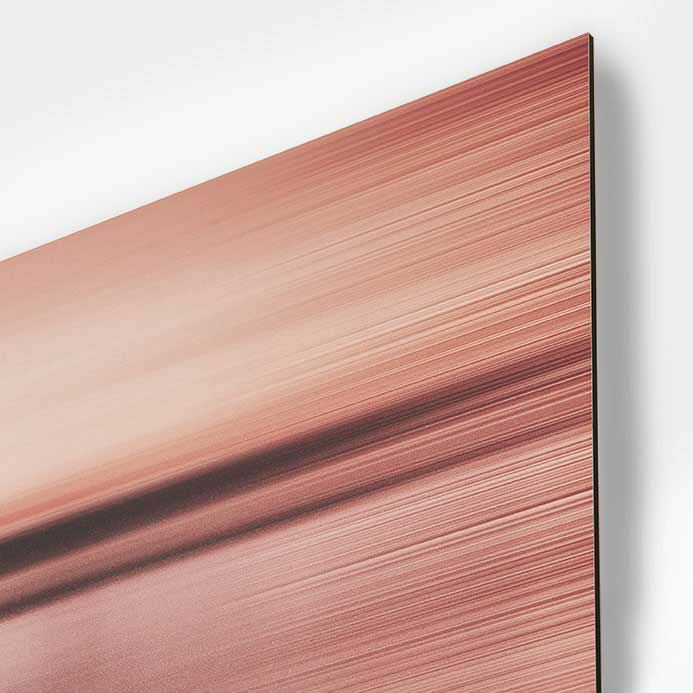 Prints on aluminum boards, Dibond®