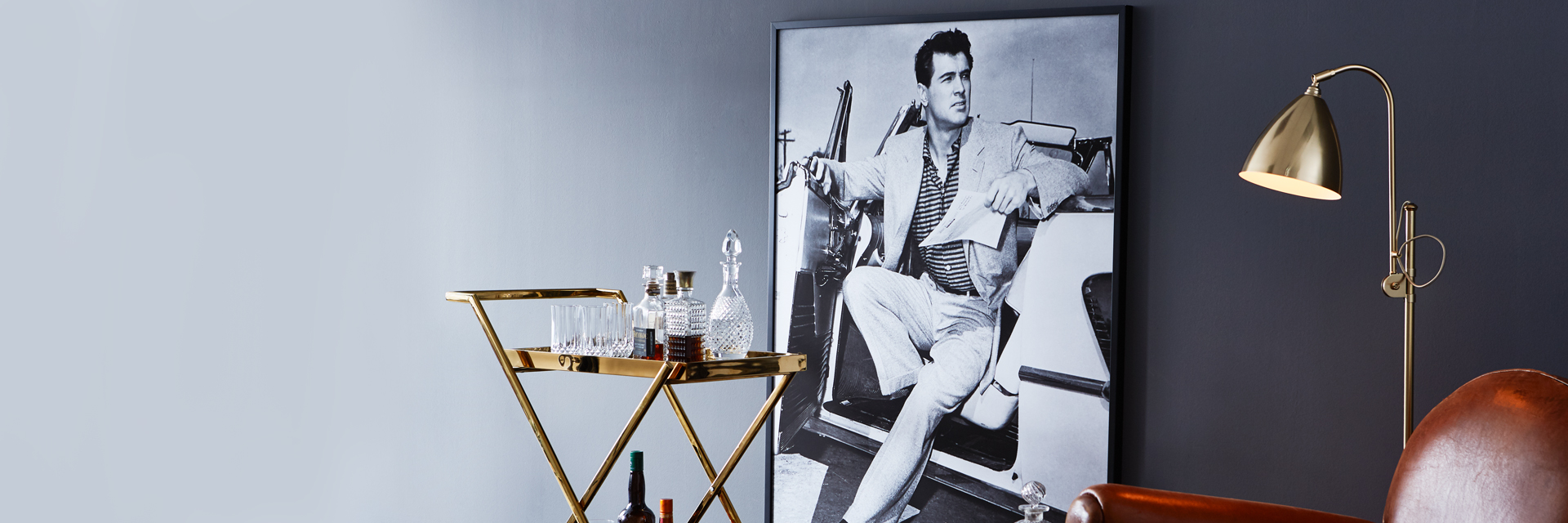 Rock Hudson on canvas