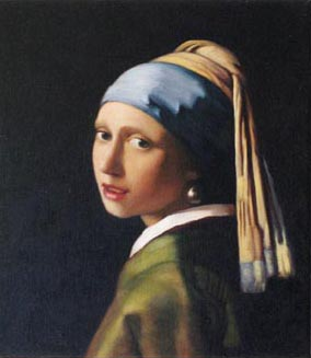 Oil Painting - The Girl with the Pearl Earring