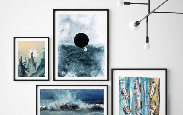 Modern art to decorate your walls