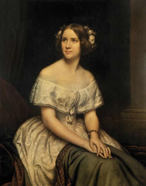 Jenny Lind Magnus As Art Print Or Hand Painted Oil