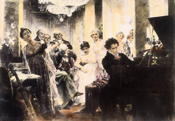 Beethoven at Lichnowskys , Schmid