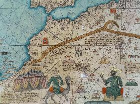 Detail from the Catalan Atlas, 1375  (detail of 151844)