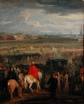 Surrender of the Citadel of Cambrai, 18th April 1677