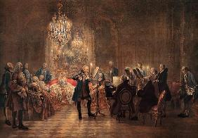 A Flute Concert of Frederick the Great (The Flutist)