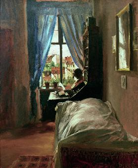 The Artist's Bedroom in his flat at Rittersstrasse