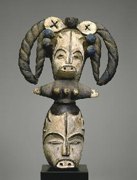 Mask with Janus Headdress