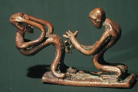 Baule dancers, from the Ivory Coast