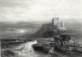 Bamborough Castle; engraved by S. Bradshaw, printed Cassell & Company LtdFoster