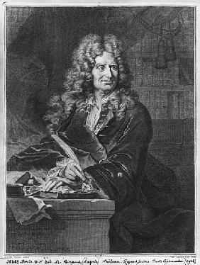 Portrait of Nicolas Boileau, known as Boileau-Despreaux