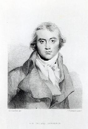 Self Portrait; engraved by J. Worthington