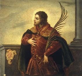 Tintoretto, Domenico : D.Tintoretto / Holy Martyr...