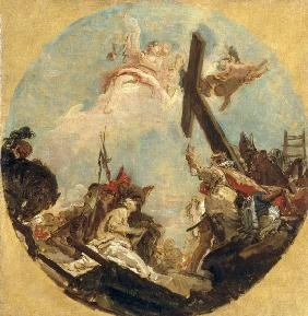 G.B.Tiepolo / Finding of the Cross / C18