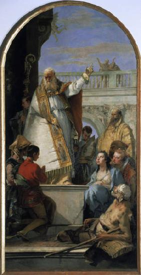 G.B.Tiepolo / Miracle of St. Patrick