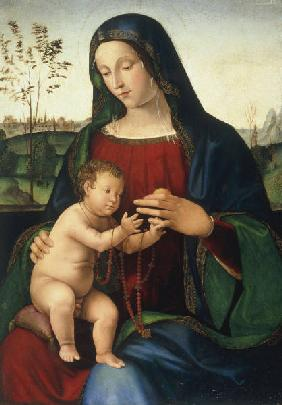 Mary with Child / Italian Paint./ C15th