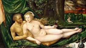 Lot and his daughter, 1537