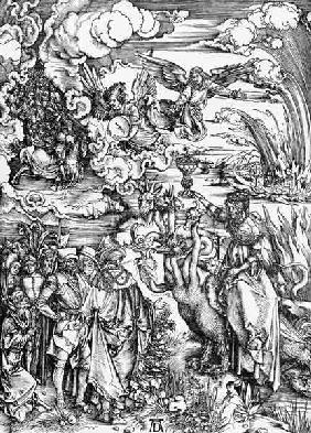 Babylonian Whore & Beast / Dürer / 1498