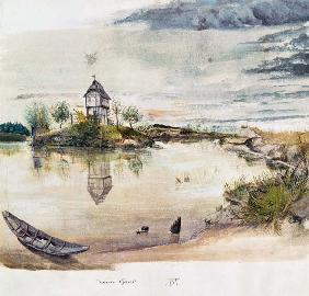 D�rer, Albrecht : House at fishpond