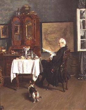 Werner, Alexander Friedrich : The Actuary at Breakfast