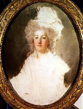 Unfinished portrait of Marie-Antoinette (1774-92) 1770-1819