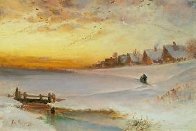 Savrasov, Alexej : Twilight in winter