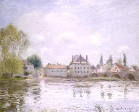 The Bridge at Moret-sur-Loing