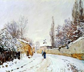 Road under Snow, near Louveciennes