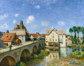Sisley, Alfred : The Bridge at Moret