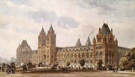 Natural History Museum Alfred Waterhouse As Art Print Or