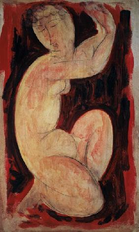 Red Caryatid, 1913 (oil, tempera and crayon on
