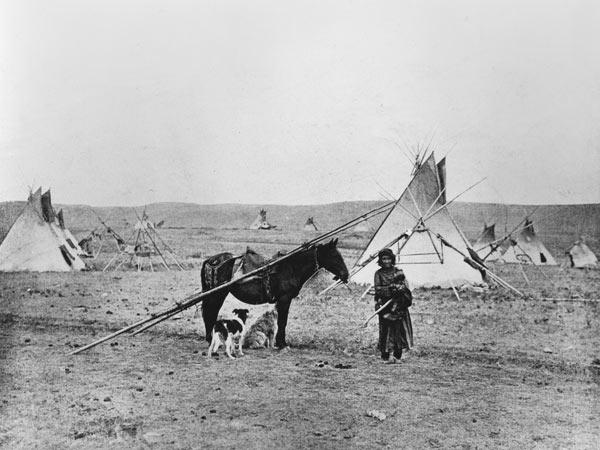 American Photographer : Comanche Indian (b/w photo...