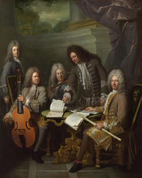 Michel de La Barre and Other Musicians
