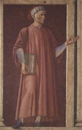 Dante Alighieri (1265-1321) from the Villa Carducci series of famous men and women
