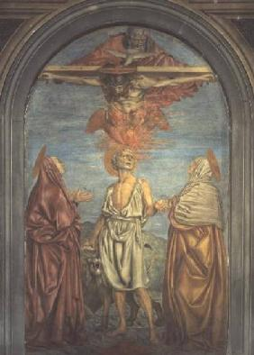 Holy Trinity with St. Jerome (fresco)