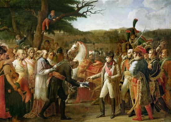 Napoleon Bonaparte 1769 1821 Receiving Anne Louis