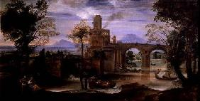 Roman Landscape with a Bridge
