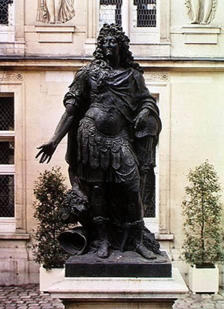 Statue Of Louis Xiv 1638 1715 Antoine Coysevox As Art