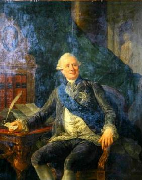 Charles Gravier (1719-87) Count of Vergennes (oil on canvas)