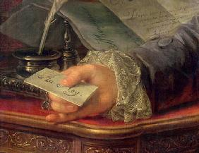 Charles Gravier (1719-87) Count of Vergennes (oil on canvas) (detail of 257923)