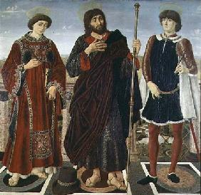 SS. Vincent of Saragossa, James and Eustace