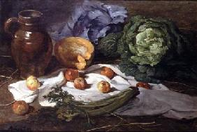 Still Life with Cabbages
