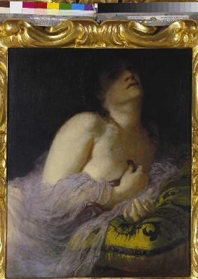 The dying Cleopatra.