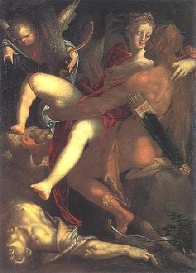 Hercules, Dejanira and the dead Nessus