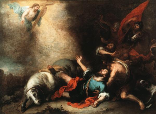 B.E.Murillo, Conversion of St. Paul