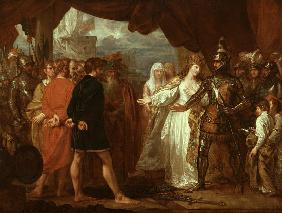 Queen Philippa Interceding for the Lives of the Burghers of Calais