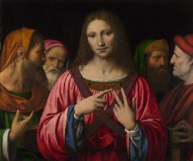 Luini, Bernardino : Christ among the Doctors