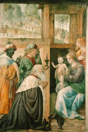Luini, Bernardino : Adoration of the Magi