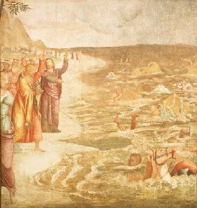 Luini, Bernardino : The Crossing of the Red Se...